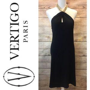 🆕 Vertigo Paris Black Halter Dress